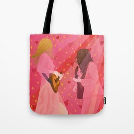 rebel heart // first aid kit Tote Bag