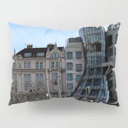 The Dancing House in Prague by Frank Grehry Pillow Sham