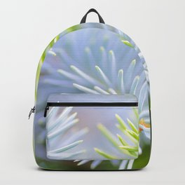 Two fir branches close-up shot Backpack