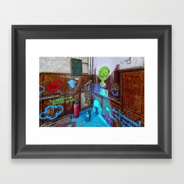 heaven on earth - was what you promised Framed Art Print