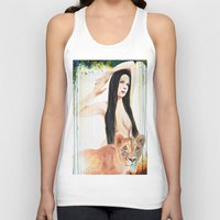 girl power Tank Tops featuring Girl Power by Beth Michele