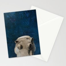 Hippo on the Tropic of Capricorn  Stationery Cards