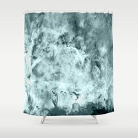 water color Shower Curtains featuring WateR by 2sweet4words Designs