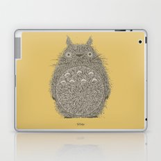 Yellow Totoro Laptop & iPad Skin