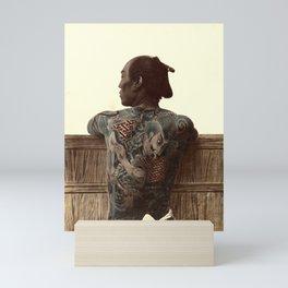 Kusakabe Kimbei - Japanese Tattoo - Original old vintage retro Photography from Japan -  Photo of Sa Mini Art Print
