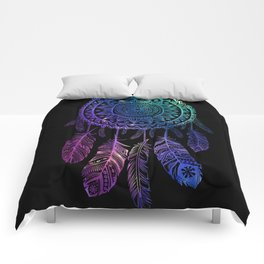 Galaxy Dreamcatcher Comforters
