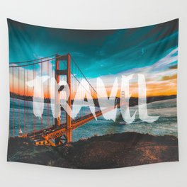 TRAVEL San Francisco Wall Tapestry