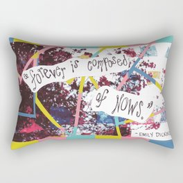 """Forever Nows"" Rectangular Pillow"