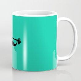 Minimal Funny Fitness Mustache / Beard Coffee Mug