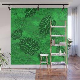 Hawaiin Flora Wall Mural