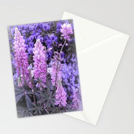 Lively Lupines Stationery Cards