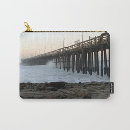 Ocean Wave Storm Pier Carry-All Pouch