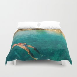 floater Duvet Cover