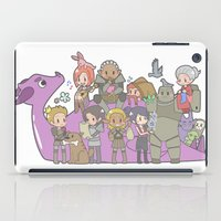 dragon age iPad Cases featuring Dragon Age - Origins Companions by Choco-Minto