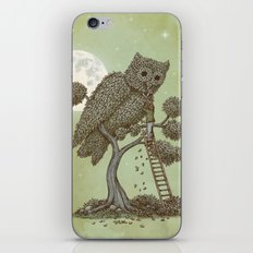 The Night Gardener (Colour Option) iPhone & iPod Skin