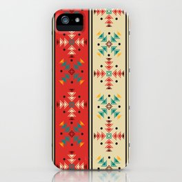 Navajo style pattern iPhone Case