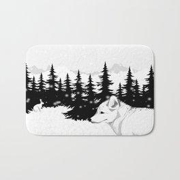Arctic Animals - Arctic Tundra Bath Mat