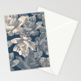 Lotos pattern Stationery Cards