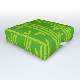 Evergreen Chinese Bamboos Outdoor Floor Cushion