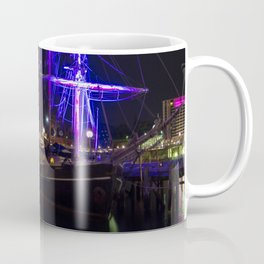 Southern Swan Ship and Sydney Opera House Coffee Mug