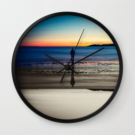 """Introspecion"" Fine Art Print Wall Clock"