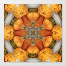 pumpkin ( pattern ) Canvas Print