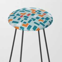 Bricks - dark Counter Stool