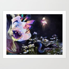 Beautiful Brokenness Art Print