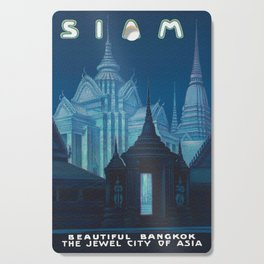 Bangkok Thailand - Siam Vintage Travel Cutting Board