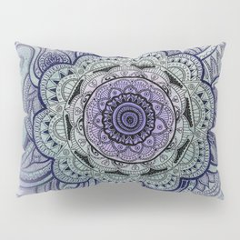 Mandala Violet Pillow Sham