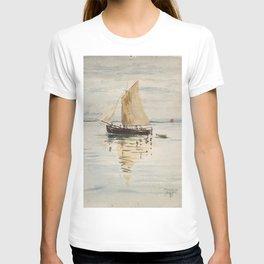 """Egon Schiele """"Segelschiff mit Spiegelungen (Sailing ship with reflection)"""" T-shirt"""