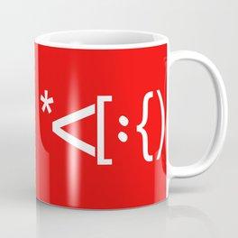 Santa Face Geek Computer Language IT Christmas #2 Coffee Mug