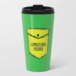 Leprechaun Holder Travel Mug