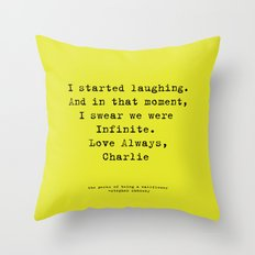 Perks of Being a Wallflower  Throw Pillow