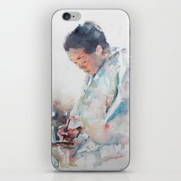 The Story Teller iPhone Skin