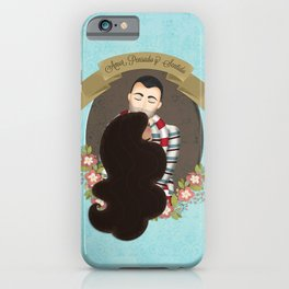 Amor Pensado & Sentido iPhone Case
