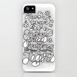 Little Christmas iPhone Case