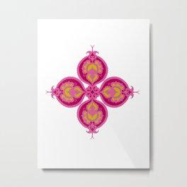 Indian Flower Metal Print