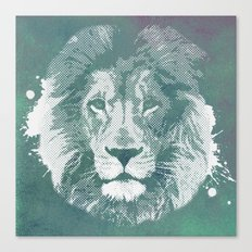Lion's mark Canvas Print