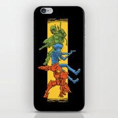 Universe Mighties Bounty Hunters iPhone & iPod Skin