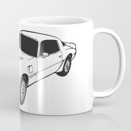 1976 Pontiac Firebird Trans Am Coffee Mug