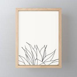 Botanical Print B Framed Mini Art Print