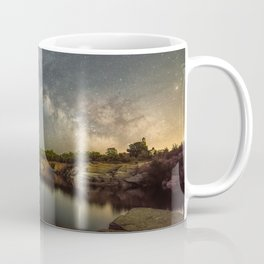 Milkyway at Halibut Point State Park quarry Coffee Mug