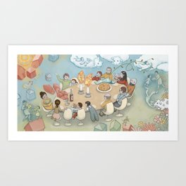 Sadie Pg 32-33 Art Print