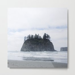 La Push Beach Metal Print