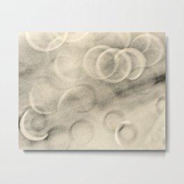 tan rings abstract Metal Print