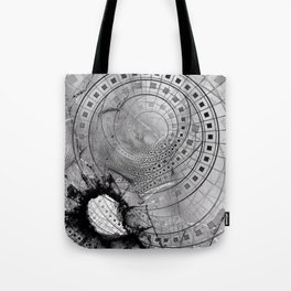 Fragmented Fractal Memories and Shattered Glass Tote Bag