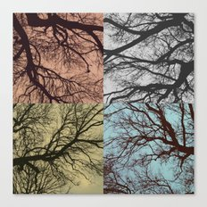 Trees // Squared Canvas Print