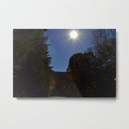 Fall sun shine Metal Print