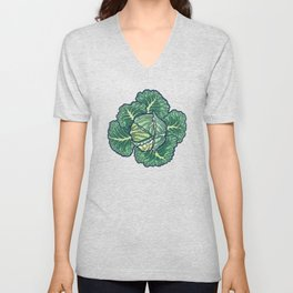 dreaming cabbages Unisex V-Neck